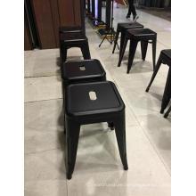Moderner Möbel-Design bunter Metallstab-Schemel-hohe Beine