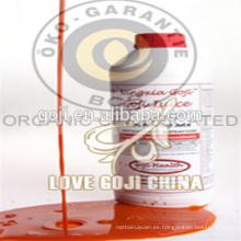 Concentrado de jugo de bayas de goji con alta calidad