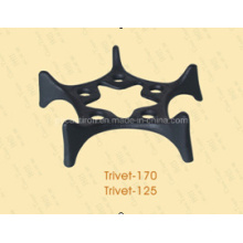 Chinese Traditional Embossed High Quality Cast Iron Trivet