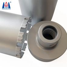 High Efficiency Diamond Drilling Tool Diamond 3 Parts Assembly Core Bits for Reinforced Concrete Asphalt