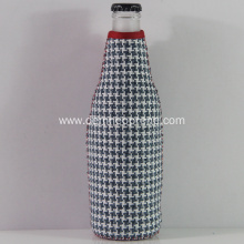Fashion Gingham Neoprene Beer Bottle Holders