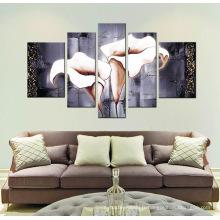 Peinture d'art en toile étirée pour salon