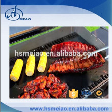 Como visto na tevê Non-stick reutilizáveis churrasqueira grade mat e forro