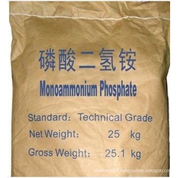 High Quality Mono Ammonium Phosphate Map (61-12-0)