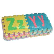 Inglês Alfabeto Mosaic EVA Mat Brinquedos 26PCS