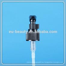 24/410 negro Bomba de loción con cierre de tornillo para lavar las manos
