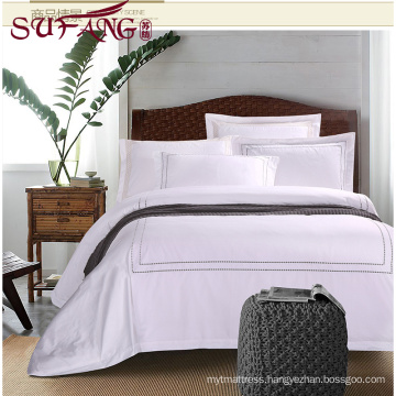 Luxury 5 star hotel Factory Directly High 100%cotton 60s/40s/80s embroidery sets