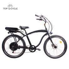 S1 48v 500w ebike rear engine hub motor chopper beach cruiser bicycles