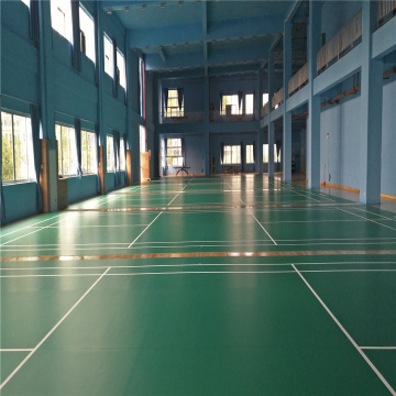 Suelo de PVC Sports para Badminton Court