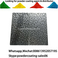 Hammer Texture Antique Silver Powder Coating