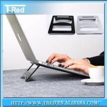 soporte de soporte de soporte de tabletas de aluminio para dispositivo electrónico de portátil