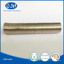 N42 Imanes permanentes redondos fuertes para componentes electrónicos