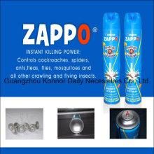 Hot-Selling Afrika Markt 300ml 400ml 750ml Insektizid Spray Aerosol Insektizid