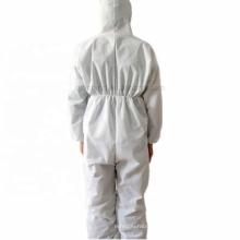 Terno químico protetor do isolamento do corpo inteiro descartável