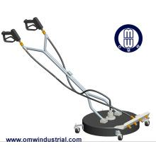 Nettoyeur rotatif à double essoreuse de 24 po avec roues pivotantes