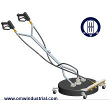 """24"""" Dual Spinner Rotary Cleaner with Caster Wheels"""