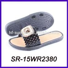 summer outdoor pvc air blow slipper pvc strap slipper pvc slipper