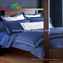 Ropa de cama de algodón egipcio al por mayor Juegos de cama de hotel Jacquard 5 estrellas