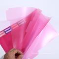 Venta al por mayor personalizada impreso PVC libro cubierta plástica carpeta en Guangzhou