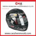 Casco plástico da injeção / molde do Casque para a motocicleta (cz-501)