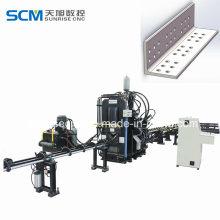 Punzonadora para la fabricación de la torre de transmisión