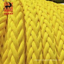 Cuerda de amarre para barco Cuerda trenzada mixta de polipropileno de poliéster de tamaño personalizado