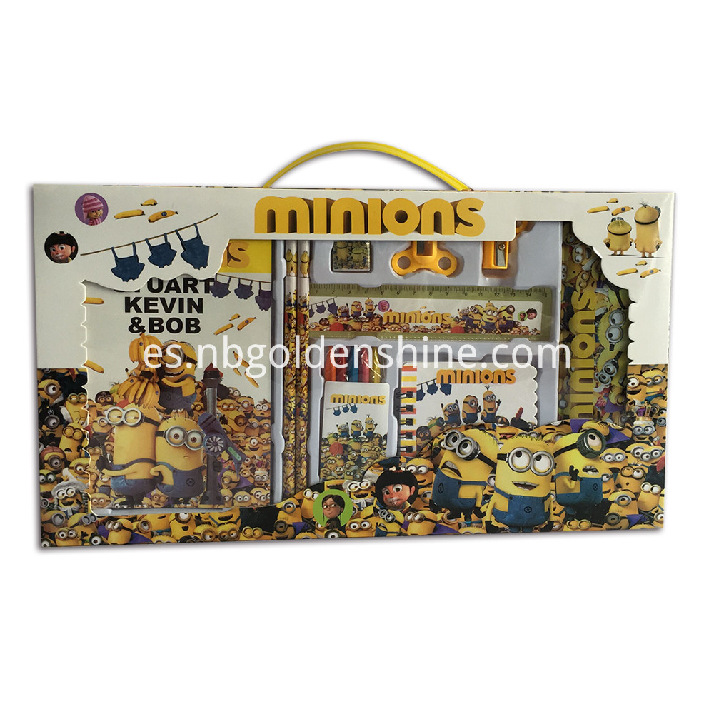 Minions Stationery Set
