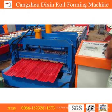 Equipamento de formação de rolos para construção e produtos de construção