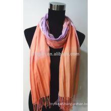100% Rayon Yarn Dyed Scarf