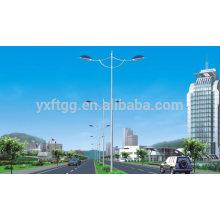 Poste de lampe en acier galvanisé de rue 5M