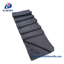 2018 factory customize quick drying towel with zipper