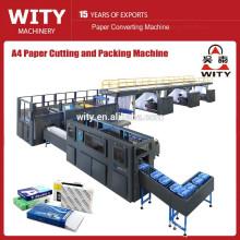 2015 automático completo DTCP A4 A4 corte de papel y máquina de embalaje