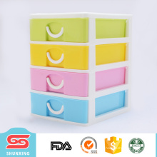 Armários de armazenamento plásticos multifuncionais práticos da gaveta para a venda hotting