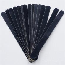 185MM black Japanese sandpaper nail file durable and sharp