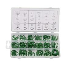 Standard Hydraulic Mechanical O Ring Set Black/Green/Brown Repair Box Kit Rubber O Ring Assortment NBR FKM O Ring Seal Kit