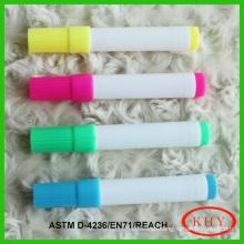 Advertising conform to ASTM D-4236 vivid color wet erase chalk marker