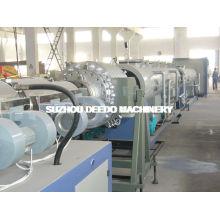 Linha de produção de tubos de extrusão de PVC