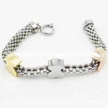 Bracelet en acier inoxydable pour décoration