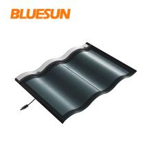Bluesun BIPV photovoltaic roof shingles 30w thin film solar cell roof tiles 30w tile that generates energy solar