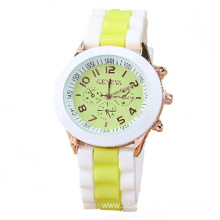 Customized promotional quartz silicone watch