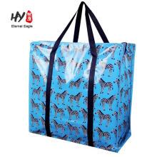 Рождественский подарок PP сплетенный большая сумка