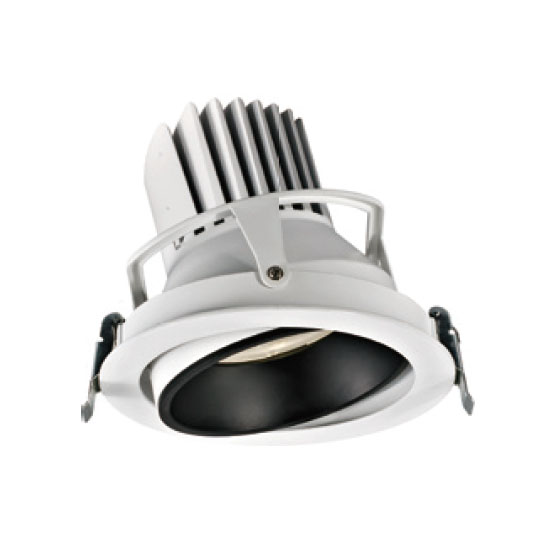 Grey Landscape 38W LED Downlight