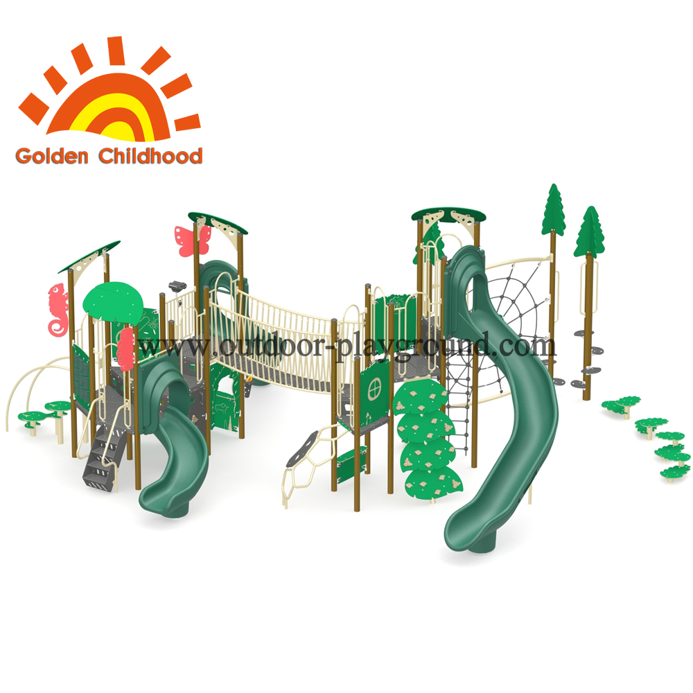 Animal And Nature Outdoor Playground Equipment