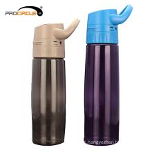 600ML Outdoor Sport MP3 Music Plastic Water Bottle