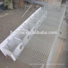 Cage de vison de cage d'animal à vendre
