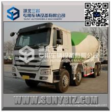 HOWO 12 Wheeler 11 M3 Concrete Mixer Truck