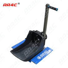 AA4C car exhaust extracting  system auto vehicle  exhaust  dolly for truck manually control customize  size