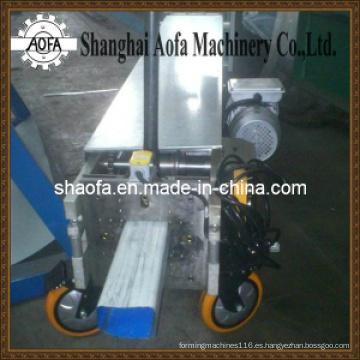 Máquina formadora de rollos de bajada portátil (AF-W80)