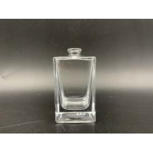 Men spray 50ml clear square glass perfume bottle