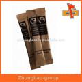 Biologisch abbaubare kundenspezifische Kraftpapier Instant-Kaffee-Beutel zum Verpacken
